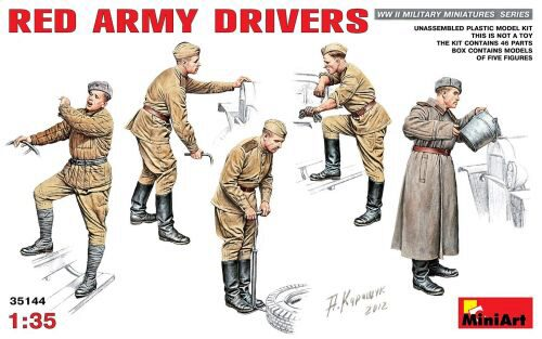 MiniArt 35144 Red Army Drivers