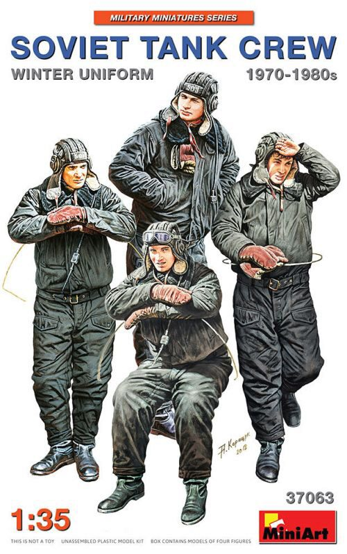 MiniArt 37063 Soviet Tank Crew 1970-1980s. Winter Uniform