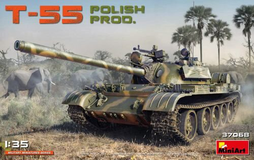MiniArt 37068 T-55 Polish Prod.