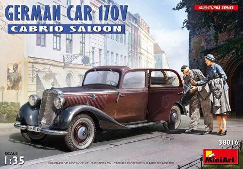 MiniArt 38016 German Car 170V Cabrio Saloon