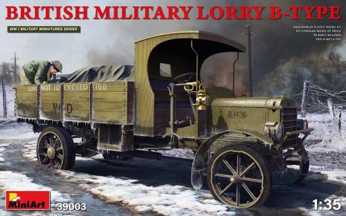 MiniArt 39003 British Military Lorry B-Type
