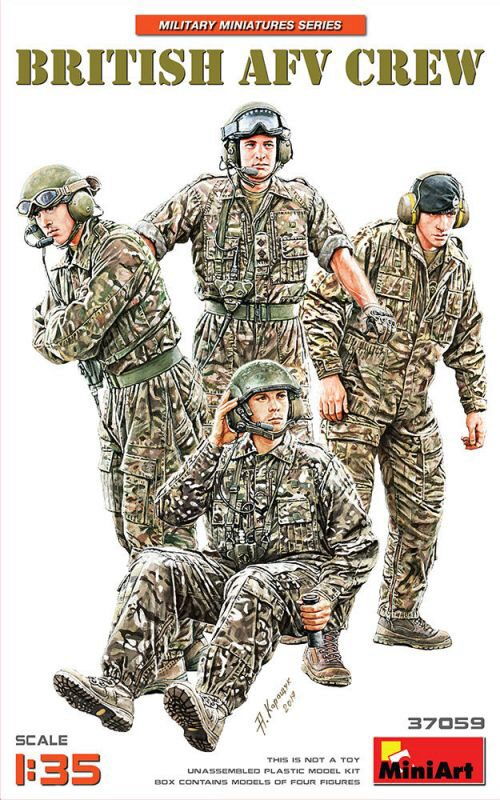 MiniArt 37059 British AFV Crew