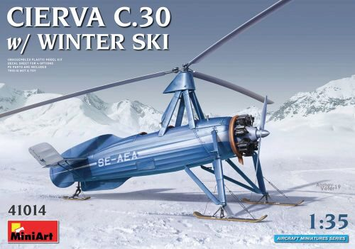 MiniArt 41014 Cierva C.30 with Winter Ski