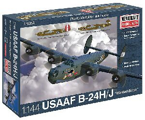 MiniCraft 584688 1/144 B24J Blasted Event