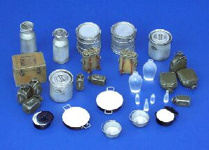 plusmodel 116 Equipment of German Kitchen - Crockery, WWII