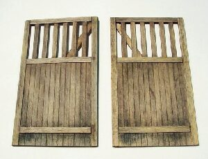 Plus model 432 Wooden gate - straight