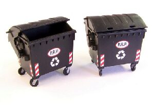Plus model 433 Waste container