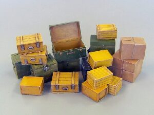 Plus model 452 Small transport boxes