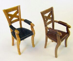 Plus model EL058 Chairs with armrests