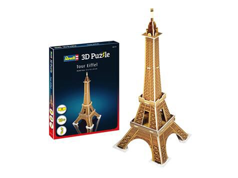 Revell 00111 Eiffel Tower Mini 3D Puzzle