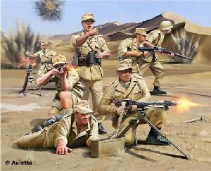 Revell 02616 Africa Corps WWII