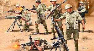 Revell 02617 British 8. Army WWII