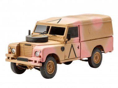 Revell 03246 British 4x4 Off-Road Vehicle 109