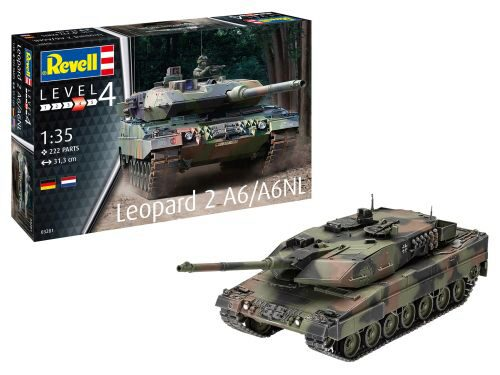 Revell 03281 Leopard 2A6/A6NL