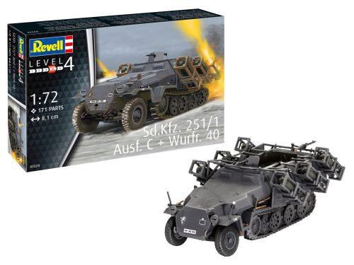 Revell 03324 Sd.Kfz. 251/1 Ausf. C + Wurfr. 40