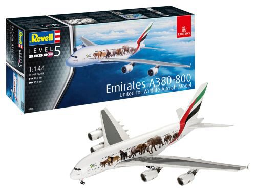 Revell 03882 Airbus A380-800 Emirate Wild Livery