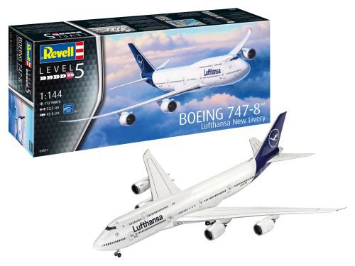 Revell 03891 Boeing 747-8 Lufthansa New Livery
