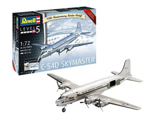 Revell 03910 C-54D Berlin Airlift 70th Anniversary