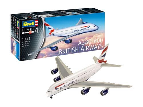 Revell 03922 A380 - 800 British Airways