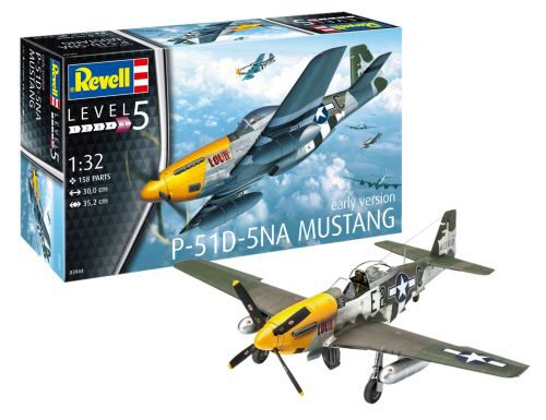Revell 03944 P-51D-5NA Mustang (early version)