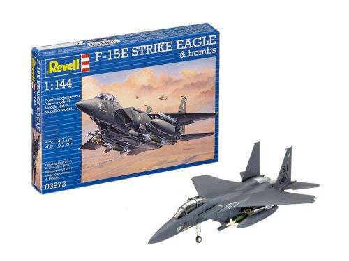 Revell 03972 F-15E STRIKE EAGLE &amp, bombs