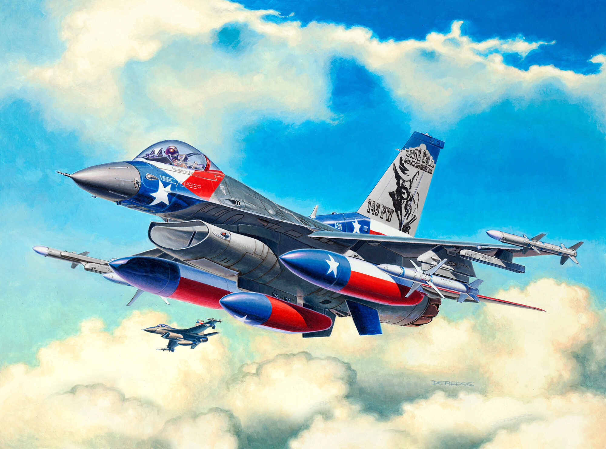Revell 03992 Lockheed Martin F-16C Fighting Falcon