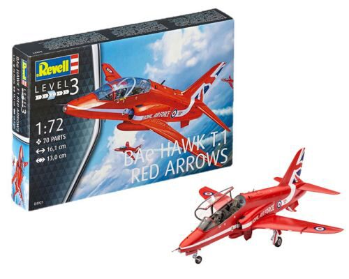 Revell 04921 BAe HAWK T.1 RED ARROWS