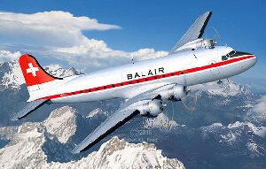 Revell 04947 DC-4 Balair / Iceland Airways