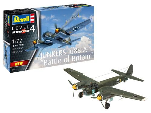 Revell 04972 Junkers Ju88 A-1 Battle of Britain