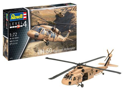 Revell 04976 UH-60 Transport Helicopter