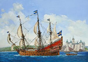 Revell 05719 Geschenk-Set Royal Swedish Warship VASA