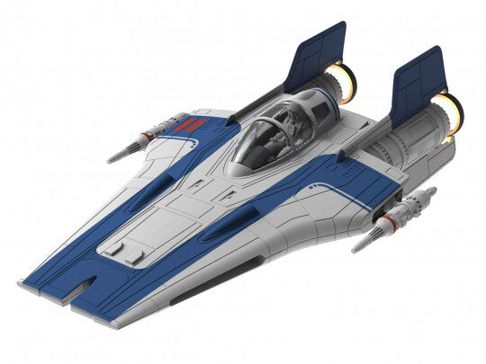 Revell 06762 Star Wars Build & Play Resistance A-wing Fighter