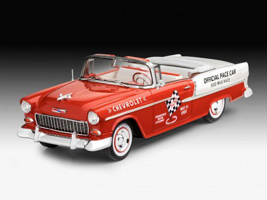 Revell 07686 1955 Chevy Indy Pace Car