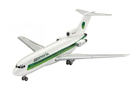 Revell 63946 Model Set Boeing 727-100 GERMANIA