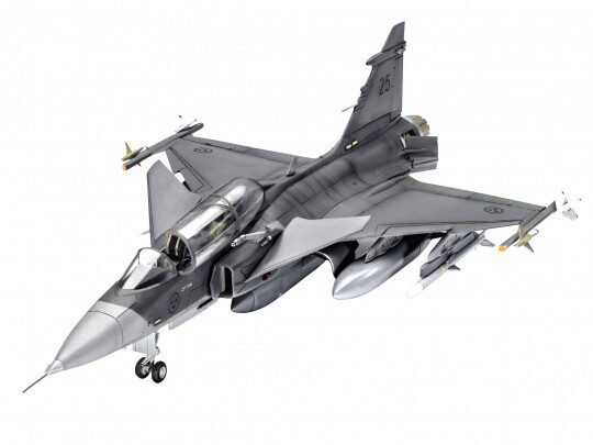 Revell 63956 Model Set Saab JAS-39D Gripen TwinSeater