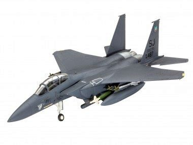 Revell 63972 Model Set F-15E STRIKE EAGLE &amp, bombs