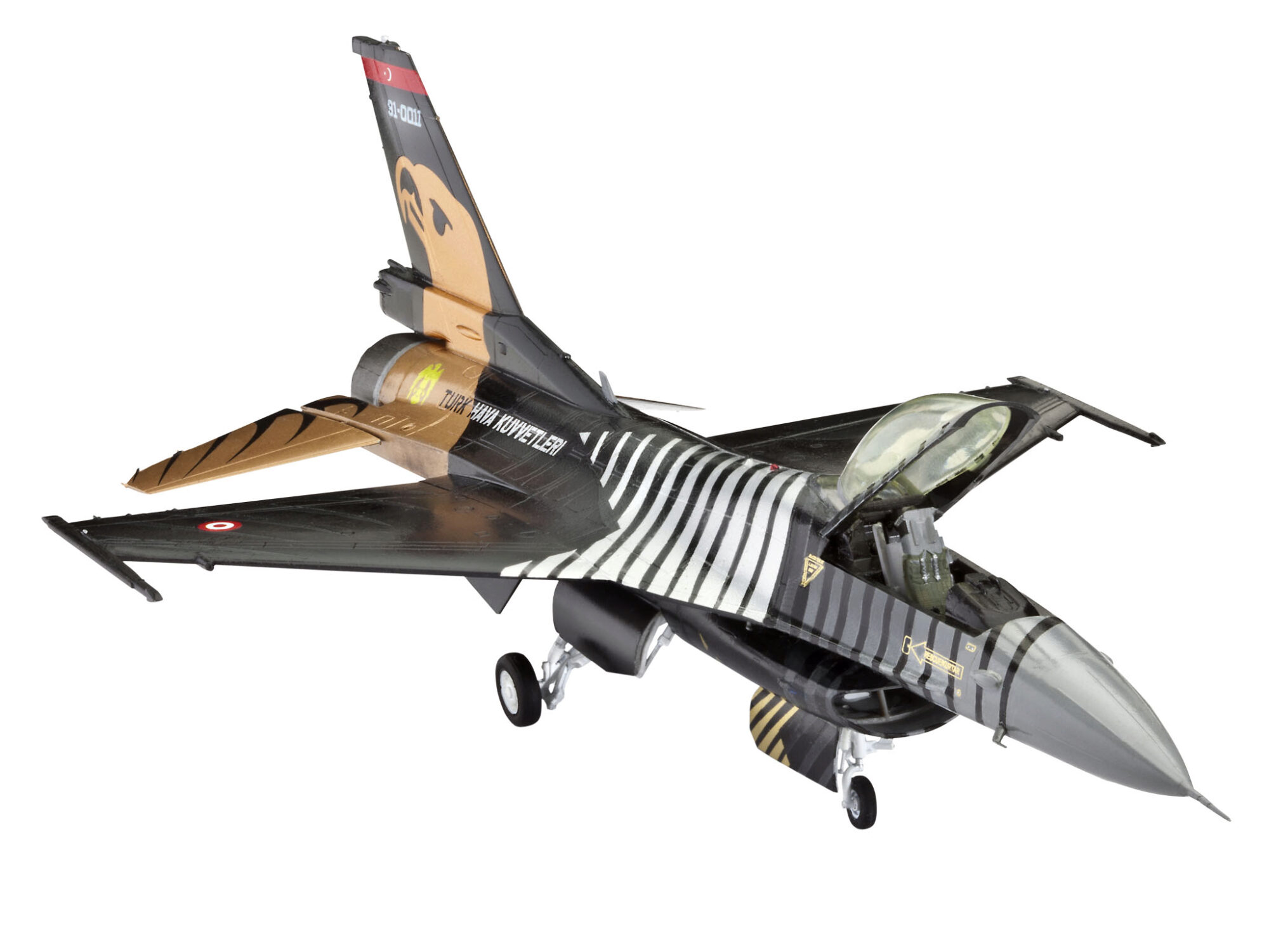 Revell 64844 Model Set F-16 C  SOLO TÜRK