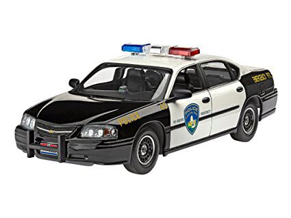 Revell 67068 Model Set Chevy Impala Police Car