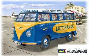 Revell 67436 Model Set VW T1 Samba Bus Lufthansa