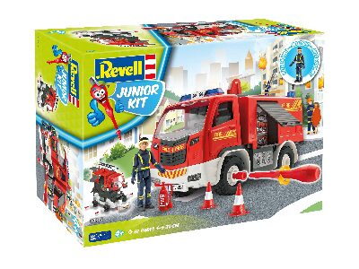 Neu Figur Feuerwehrmann Revell 00752-1//20 Junior Kit