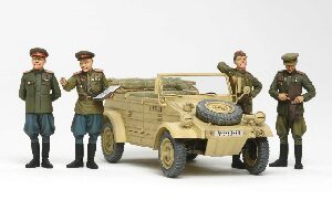 Tamiya 25153 Russian Commanders & Staff Car Set