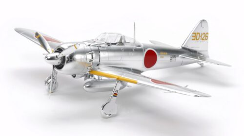 Tamiya 10317 Mitsubishi A6M5/5a Zero Fighter (Silver Plated)