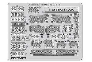 Tamiya 12616 Ferrari FXX Photo-Etched Parts