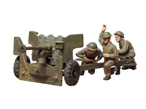 Tamiya 35005 British 6-Pounder  Anti-Tank  Gun