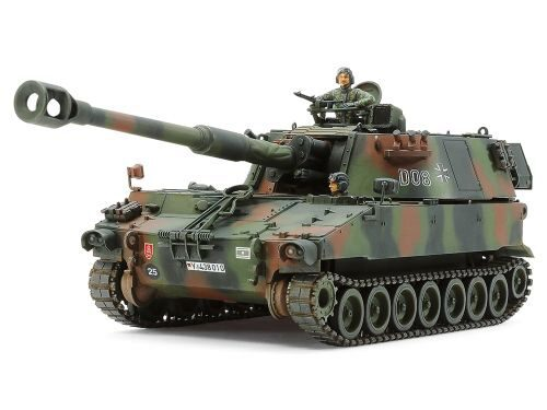 Tamiya 37022 German Bundeswehr Self-Propelled Howitzer M109A3