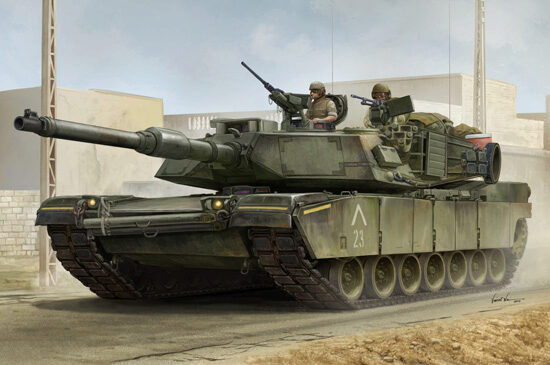 Trumpeter 00926 US M1A1 AIM MBT