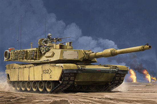 Trumpeter 00927 US M1A2 SEP MBT