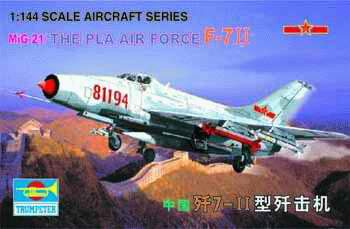 Trumpeter 01325 MiG-21 J-711 China (The Pla Airforce)