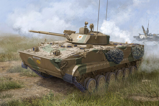 Trumpeter  01534 1/35 BMP-3 in Cyprus Service