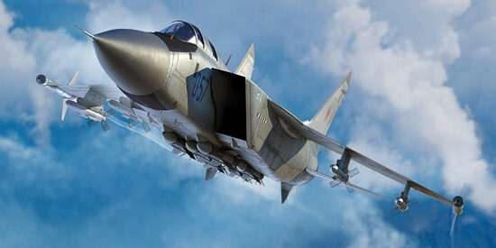Trumpeter 01681 Russian MiG-31M Foxhound